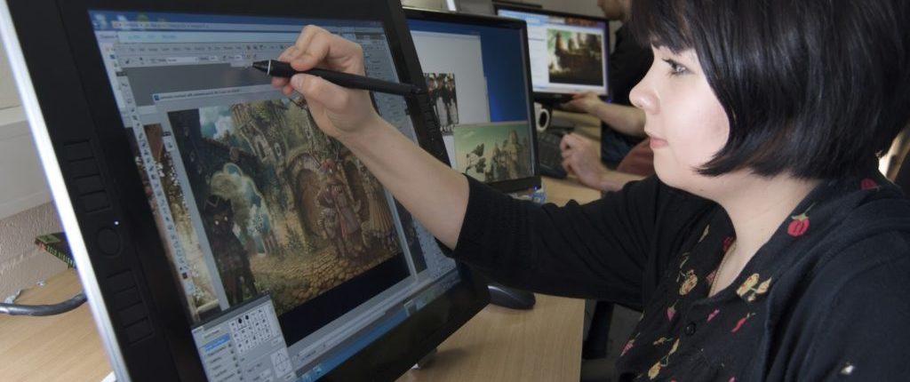 illustrator HND COMPUTER GAME ANIMATION